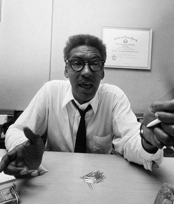 Bayard Rustin, leader of the