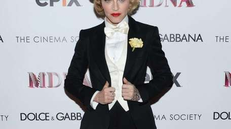 Madonna attends the Dolce & Gabbana and The