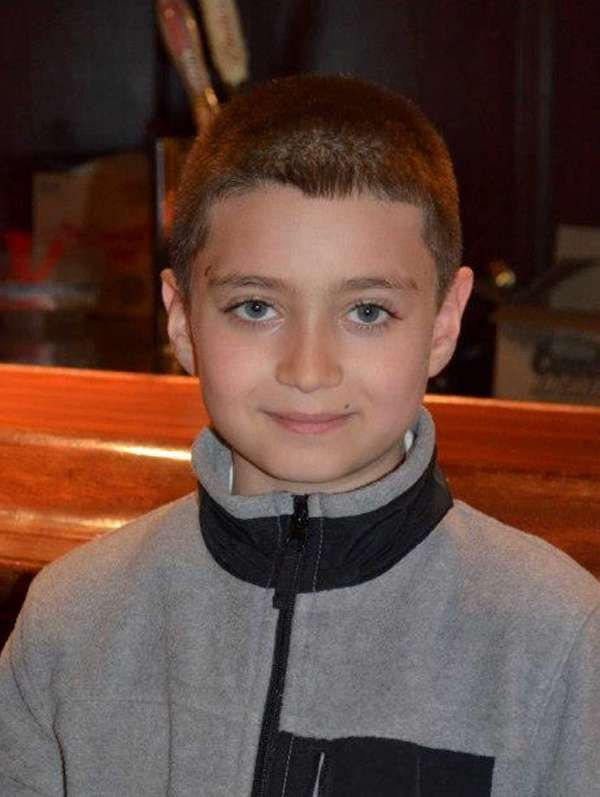 Alexander J. Huertas, 8, of Malverne, died in