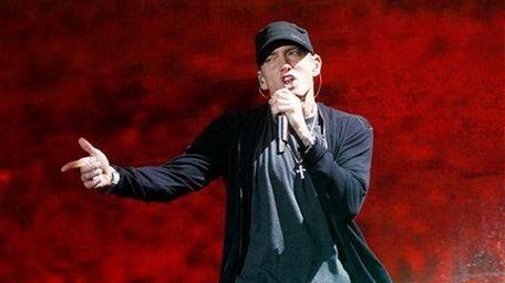 Eminem performs at Yankee Stadium in the Bronx