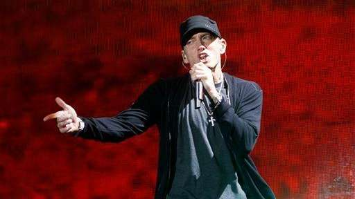 Eminem performs at Yankee Stadium in the Bronx
