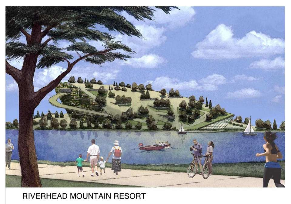 Riverhead Resorts proposed in 2007 to create a