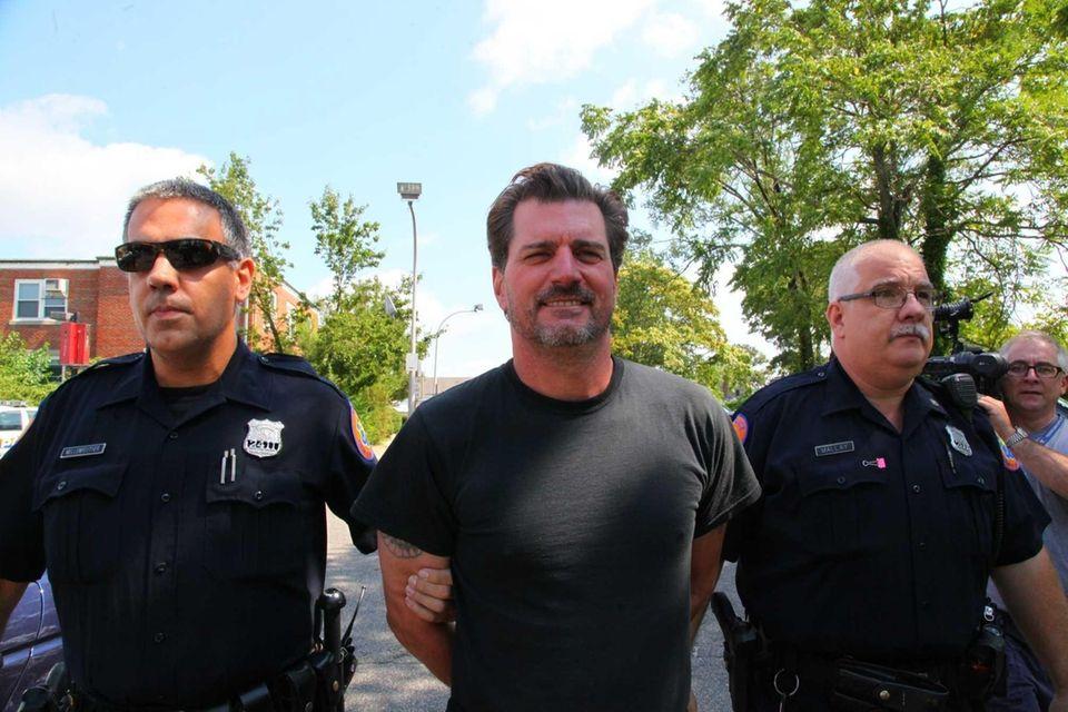 Police say Joel Grasman, 51, a veteran NYC