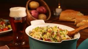 Beer and bacon potato salad.