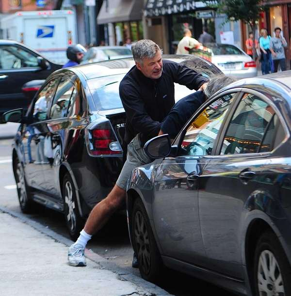 Alec Baldwin has an altercation with a photographer