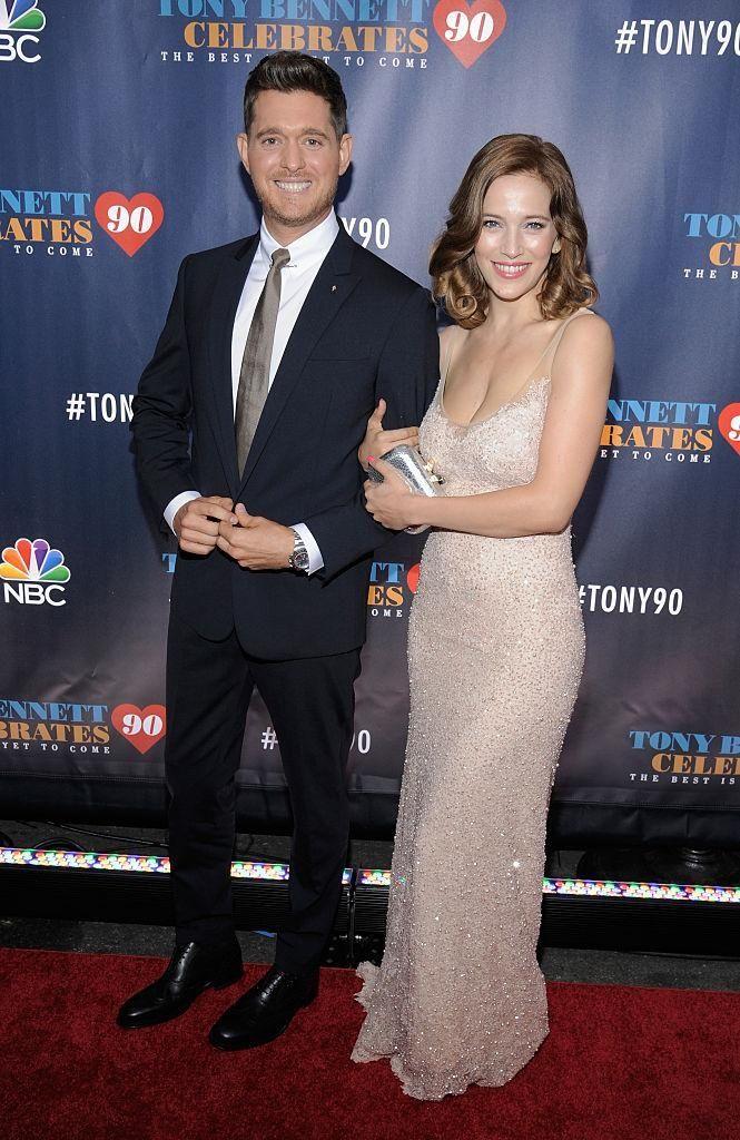 Parents: Michael Bublé and Luisana Lopilato Children: Noah,