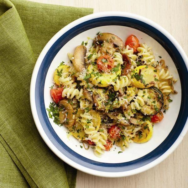 The Pasta primavera recipe can be found in
