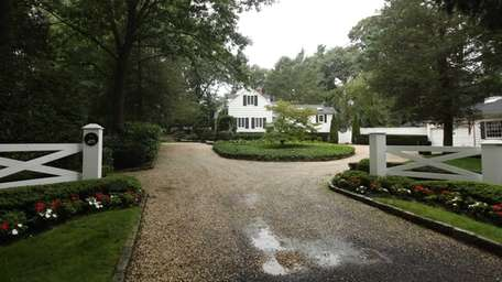 Bobby Nystrom's Oyster Bay Cove home on Berry