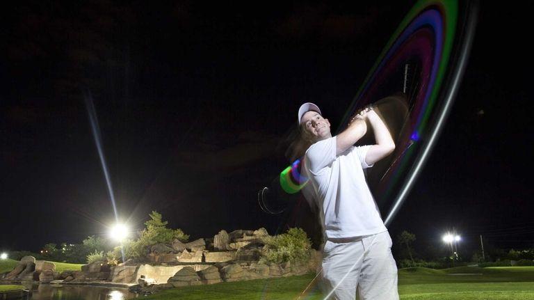 T.J. Katsoulas of Rockville Centre demonstrates a swing