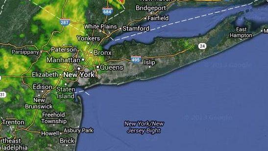 A flood advisory for New York City has