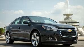 The revamped 2014 Chevrolet Malibu will get a