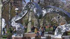Pratt Institute's Sculpture Park, the largest outdoor sculpture