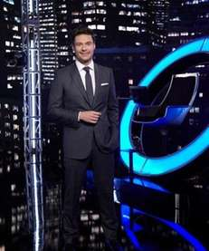 "Ryan Seacrest, host of ""Million Second Quiz."""