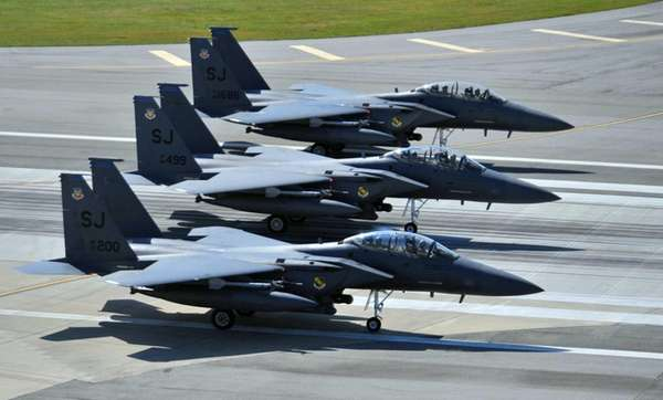 F-15E Strike Eagles of the 4th Fighter Wing