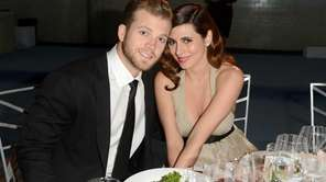 Cutter Dykstra and Jamie-Lynn Sigler attend The Art