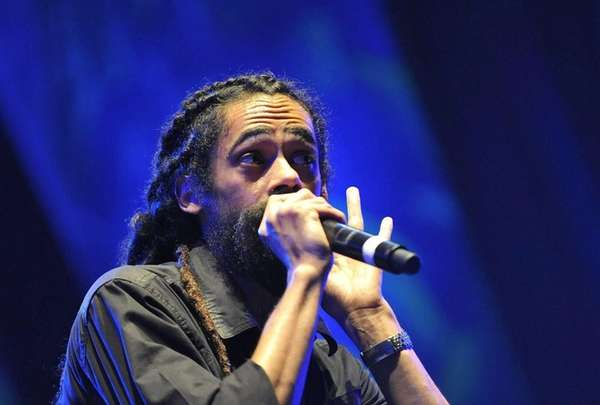 Damian Marley performs in Castellon, Spain. (Aug. 24,