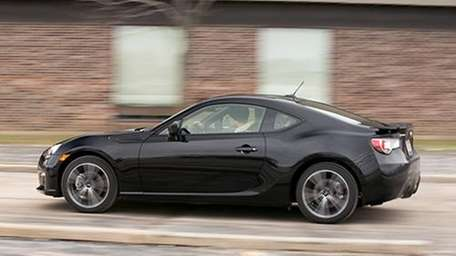 The 2013 Subaru BRZ's appearance gives little indication