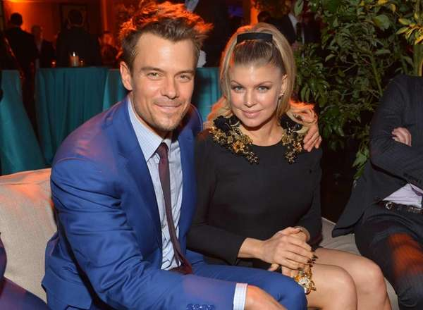 Actor Josh Duhamel and actress/singer Fergie attend a
