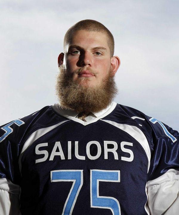 Oceanside offensive lineman James Kretkowski.