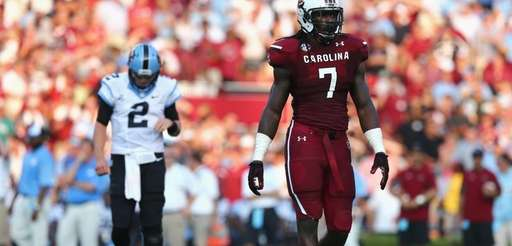 Jadeveon Clowney of the South Carolina Gamecocks