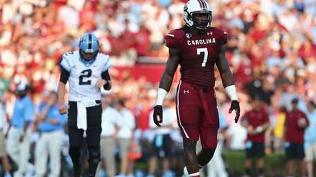 Jadeveon Clowney of the South Carolina Gamecocks