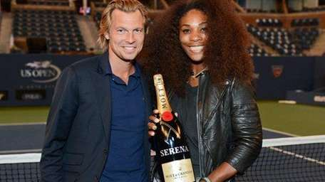 Serena Williams and Ludovic du Plessis