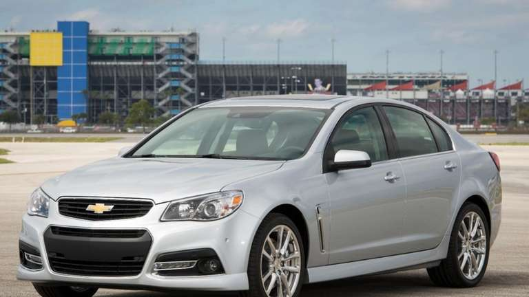 2014 Chevrolet SS Brings Performance To A Four Door Sedan