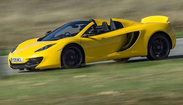 Like most supercars, the McLaren Spider is wildly