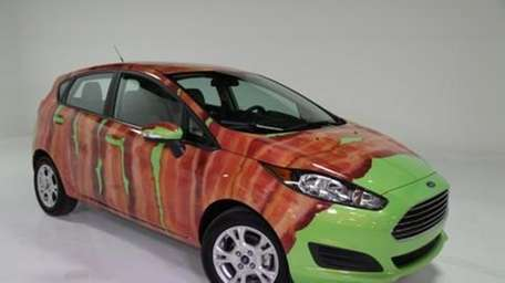 The full bacon wrap on the 2014 Ford