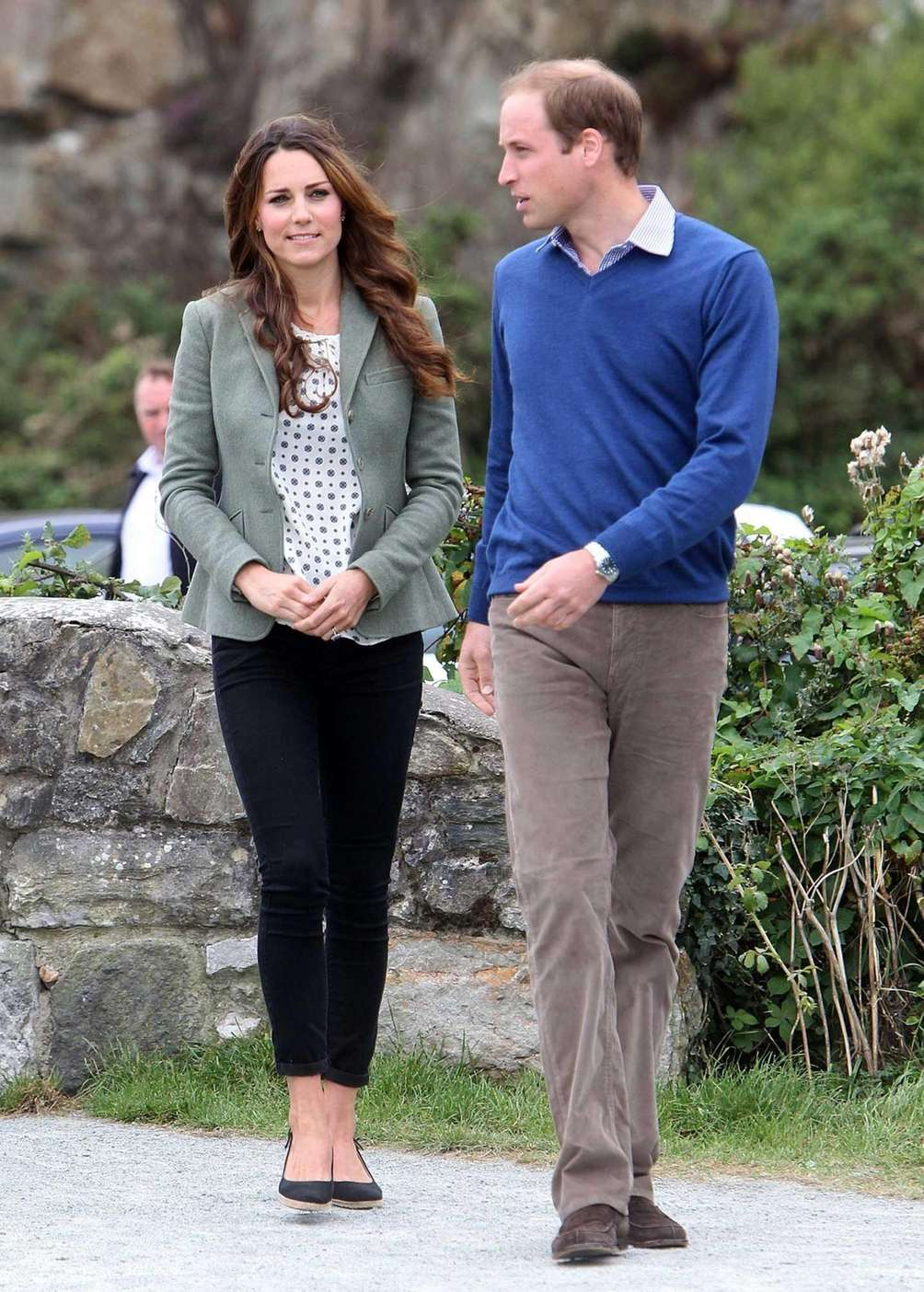 Britain's Prince William, Duke of Cambridge and Catherine,