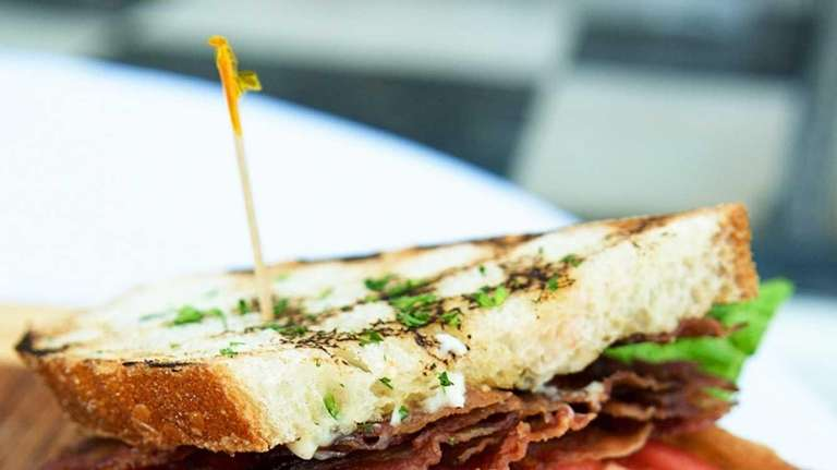 Silvers in Southampton serves a generously layered bacon,