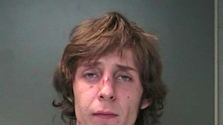 Matthew Roy, 22, of Manorville, stole a landscaping