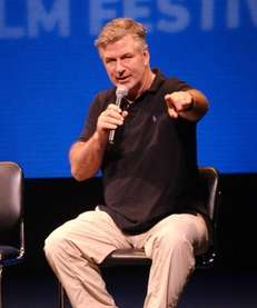 "Alec Baldwin moderates a discussion of ""The Short"