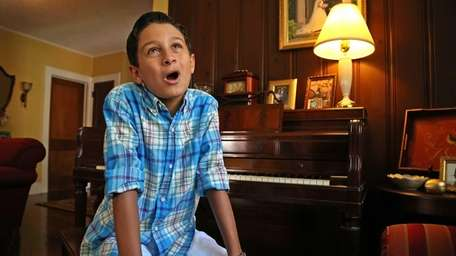 Eleven-year-old Benjamin Truncale will sing 'America the Beautiful'