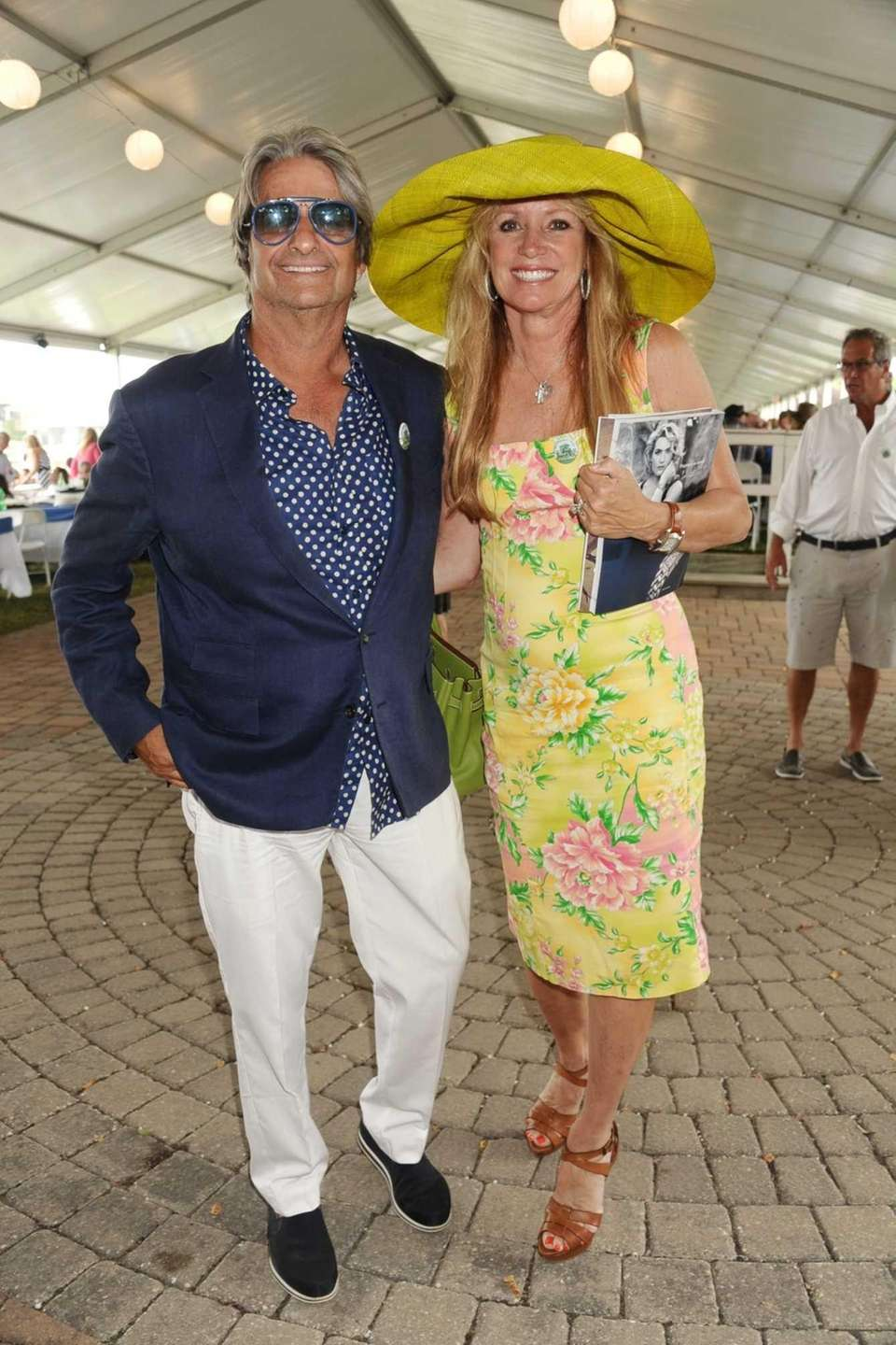 Dr. Larry Rosenthal and Sandra Rosenthal attend the