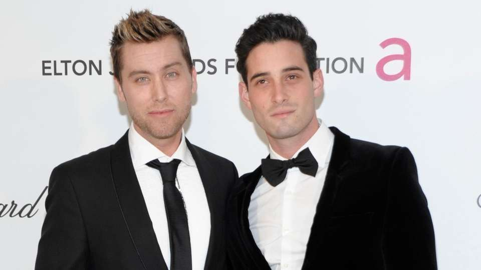 Former N*Sync member Lance Bass and aspiring actor
