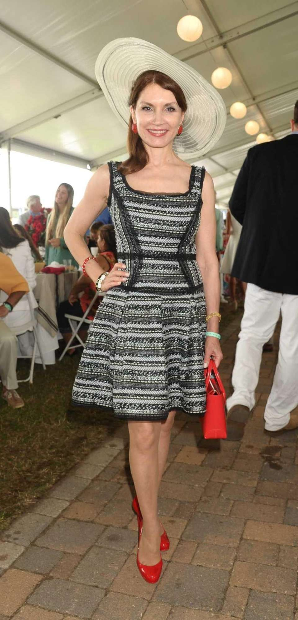 Philanthropist Jean Shafiroff at the 38th Annual Hampton