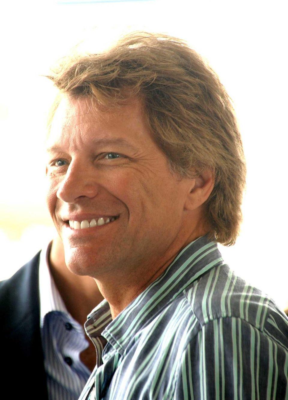 Jon Bon Jovi at the horse show in