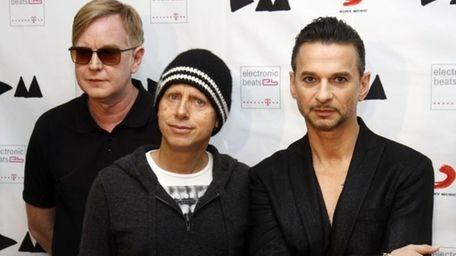 Depeche Mode -- Andrew Fletcher, Martin Gore and