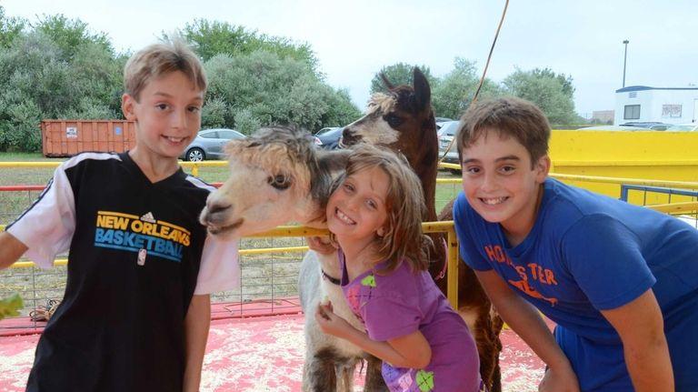 From left, the Kweit children -- Austin, 10,