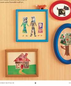 The Framed Stamp Art craft can be found