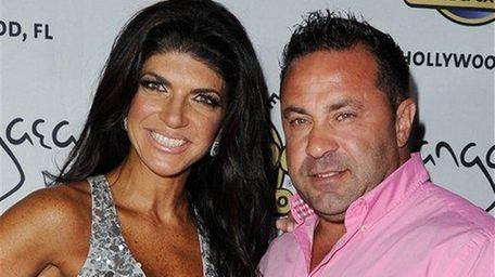 Teresa and Joe Giudice at Pangea Nightclub at