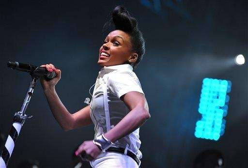 Janelle Monae performs at the second weekend of