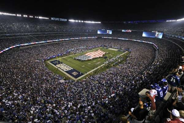 A general overall view of the Metlife Stadium
