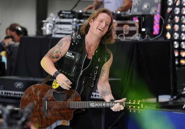 Tyler Hubbard of Florida Georgia Line performs on