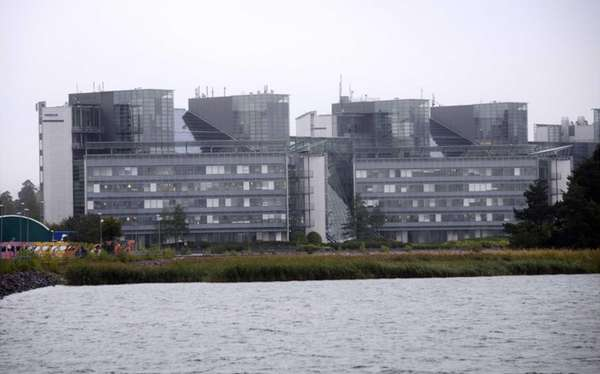 The headquarters of Finnish mobile phone manufacturer Nokia
