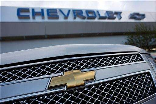 The Chevrolet logo shines of the grille of