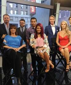 NFL wide receiver Keyshawn Johnson and reality star