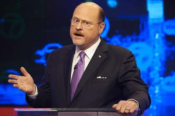 New York City Republican mayoral candidate Joe Lhota