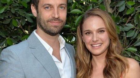 Natalie Portman and hubby Benjamin Millepied